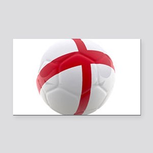 England world cup soccer ball Rectangle Car Magnet