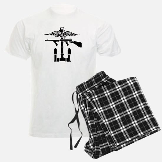 Combined Operations B-W Pajamas