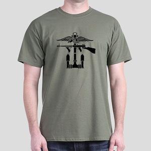 Combined Operations B-W Dark T-Shirt