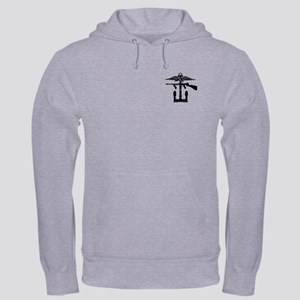 Combined Operations B-W Hooded Sweatshirt