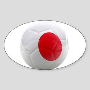 Japan World Cup Ball Sticker (Oval)