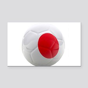Japan World Cup Ball Rectangle Car Magnet