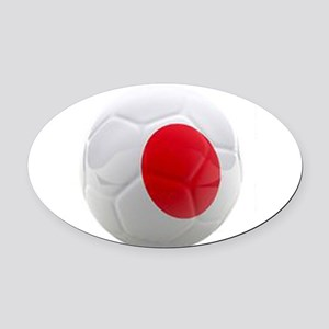 Japan World Cup Ball Oval Car Magnet
