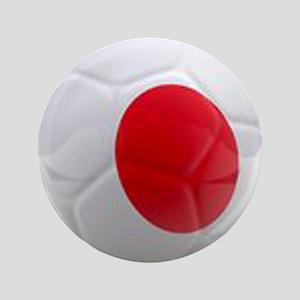 "Japan World Cup Ball 3.5"" Button"