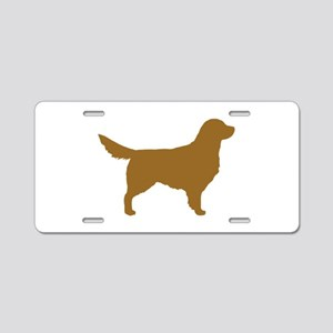 Golden Retriever Aluminum License Plate