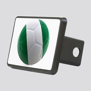 Nigeria World Cup Ball Rectangular Hitch Cover