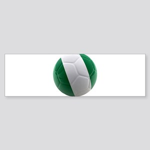 Nigeria World Cup Ball Sticker (Bumper)