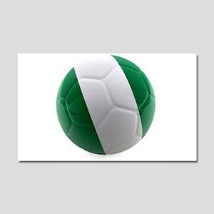 Nigeria World Cup Ball Car Magnet 20 x 12