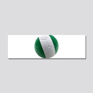 Nigeria World Cup Ball Car Magnet 10 x 3