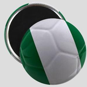 Nigeria World Cup Ball Magnet