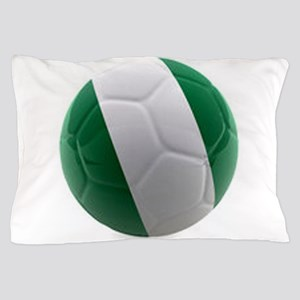 Nigeria World Cup Ball Pillow Case