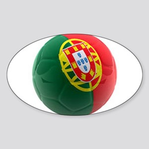 Portugal World Cup Ball Sticker (Oval)