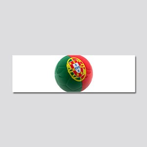 Portugal World Cup Ball Car Magnet 10 x 3