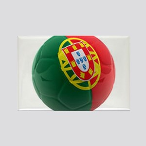 Portugal World Cup Ball Rectangle Magnet