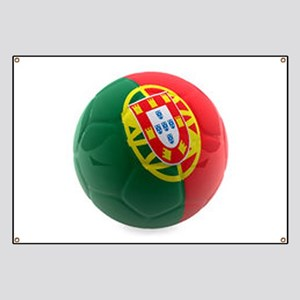 Portugal World Cup Ball Banner