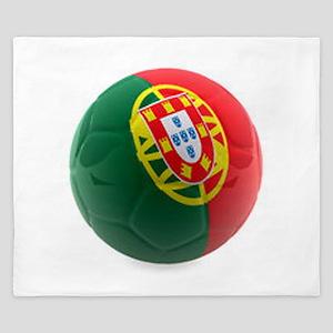 Portugal World Cup Ball King Duvet