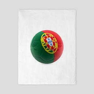 Portugal World Cup Ball Twin Duvet