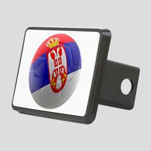 Serbia World Cup Ball Rectangular Hitch Cover
