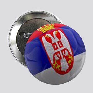 "Serbia World Cup Ball 2.25"" Button"