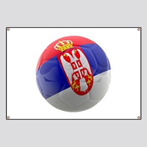 Serbia World Cup Ball Banner