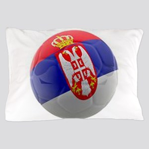 Serbia World Cup Ball Pillow Case