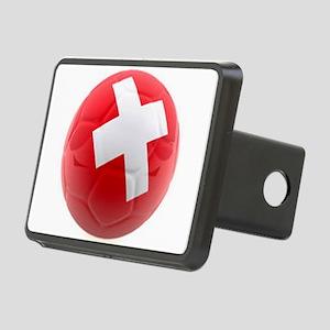 Switzerland World Cup Ball Rectangular Hitch Cover