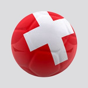 "Switzerland World Cup Ball 3.5"" Button"