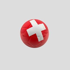Switzerland World Cup Ball Mini Button