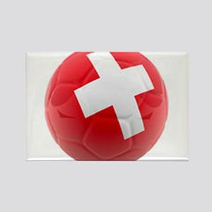 Switzerland World Cup Ball Rectangle Magnet
