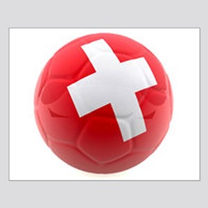 Switzerland World Cup Ball Small Poster