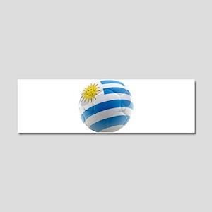 Uruguay World Cup Ball Car Magnet 10 x 3
