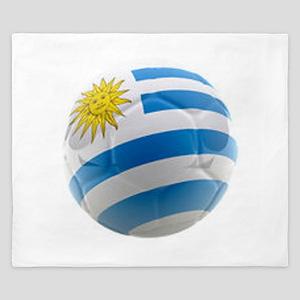 Uruguay World Cup Ball King Duvet