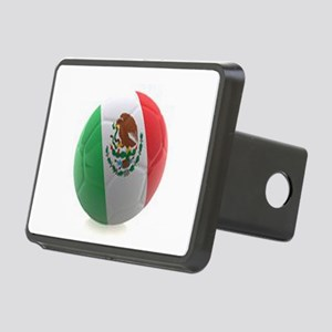 Mexico World Cup Ball Rectangular Hitch Cover