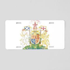 Scotland Coat Of Arms Aluminum License Plate