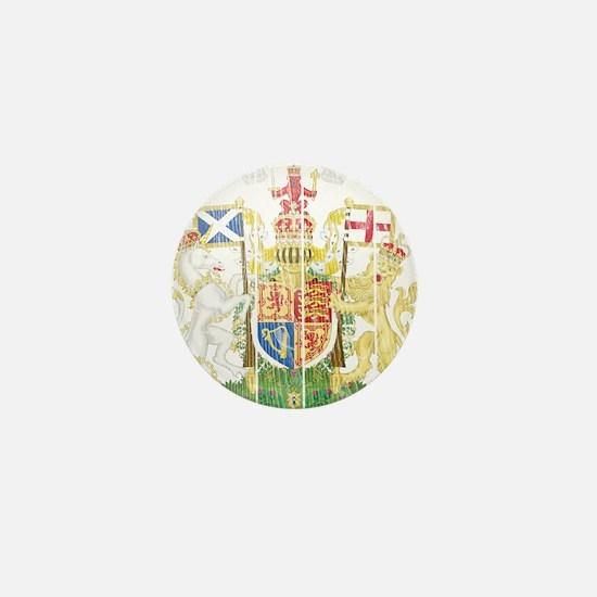 Scotland Coat Of Arms Mini Button