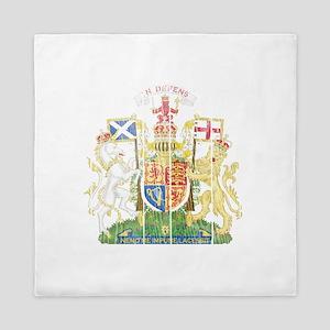 Scotland Coat Of Arms Queen Duvet