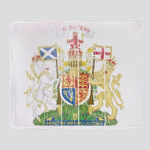 Scotland Coat Of Arms Throw Blanket