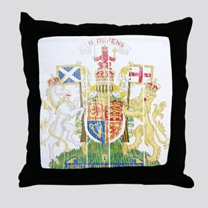 Scotland Coat Of Arms Throw Pillow
