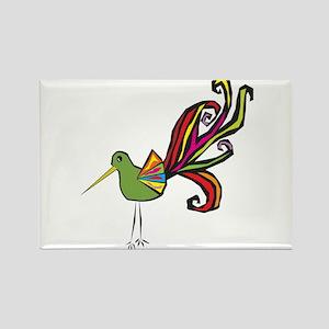 Wild Bird Rectangle Magnet