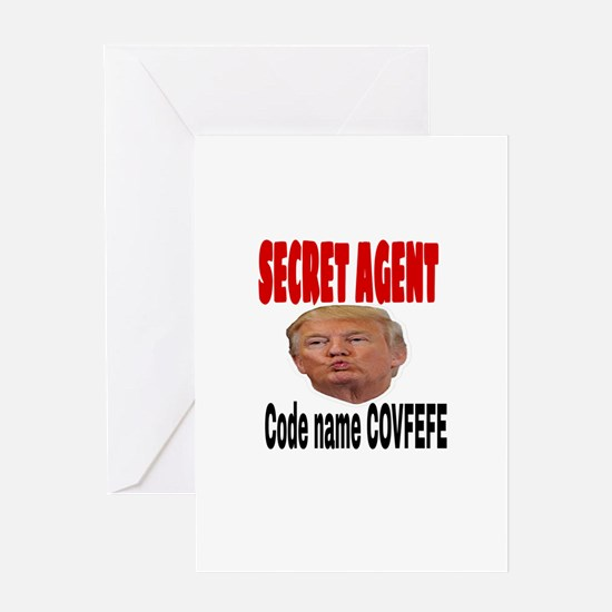 Secret Agent Trump Greeting Cards