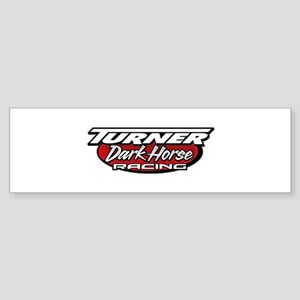 turner dark horse racing logo Sticker (Bumper)