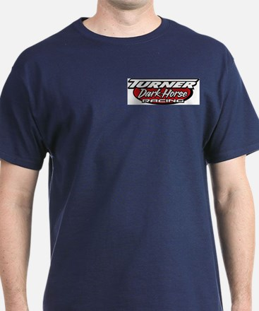 turner dark horse racing logo T-Shirt