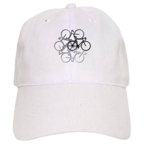 CafePress - black mountain bike bicycle Trucker Hat - Trucker Hat ... 263e0f92d287