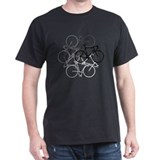 Bicycle Mens Classic Dark T-Shirts
