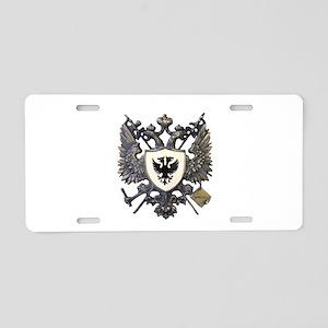 Doucette Family Crest Aluminum License Plate