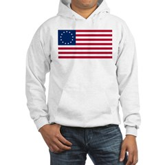 USA Betsy Ross Flag Shop Hoodie