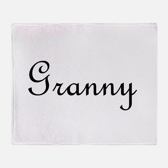 Granny.png Throw Blanket
