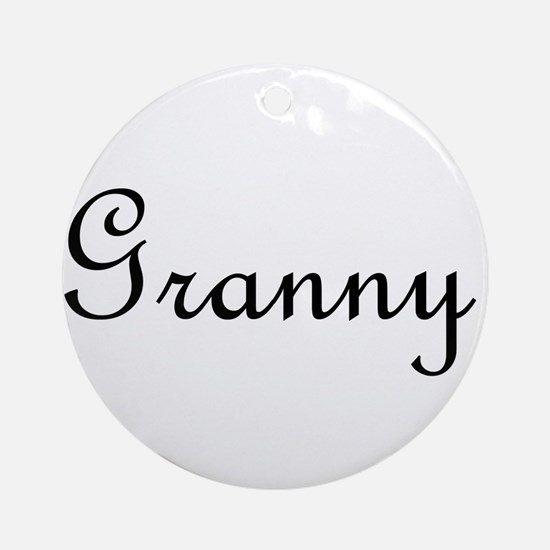 Granny.png Ornament (Round)