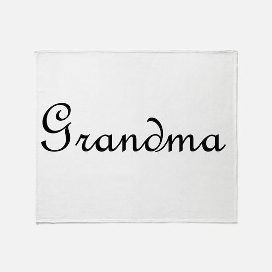 Grandma.png Throw Blanket