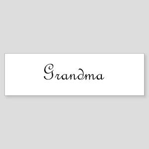 Grandma Sticker (Bumper)